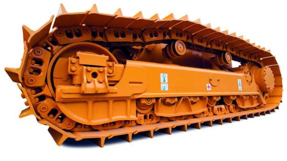 tren de rodaje maquinaria pesada