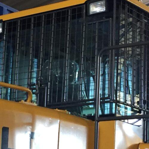 Protección de Cabinas para Maquinaria Pesada